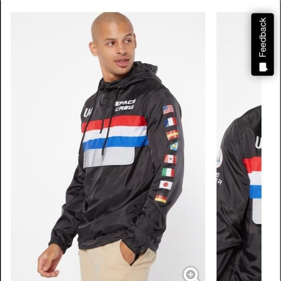 Rue21 Other - RUE21 NASA graphic windbreaker